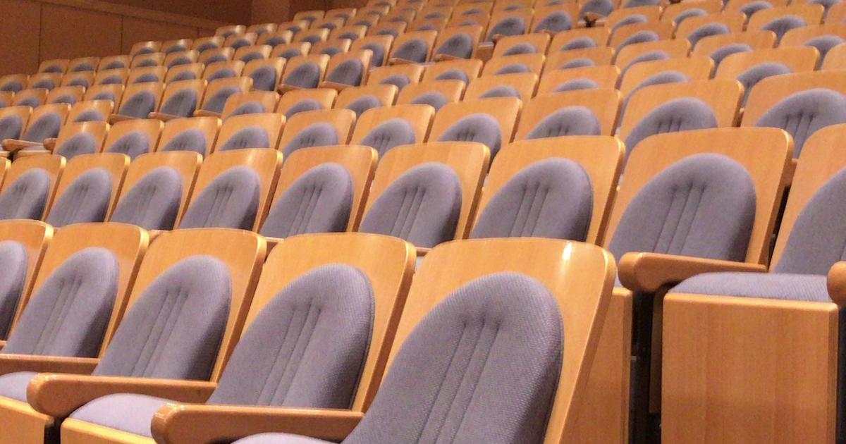 ホール座席